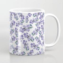 Lavender Floral Bunch Coffee Mug