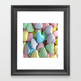 Hearts for your Sweetheart Framed Art Print