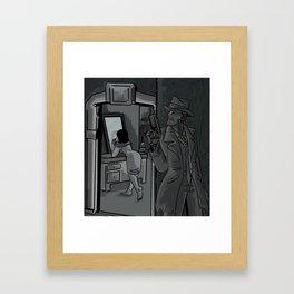 vault 114 Framed Art Print