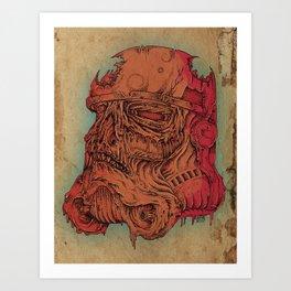 Undead Trooper Art Print