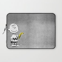 Is that a banana, or are you just glad to see me? Laptop Sleeve