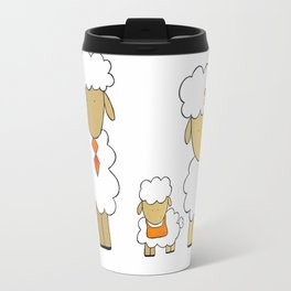 The Sheep Familly Travel Mug