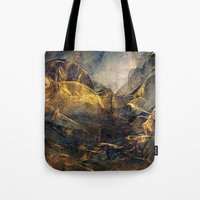 once upon a  time Tote Bags featuring Once Upon a Time by Klara Acel