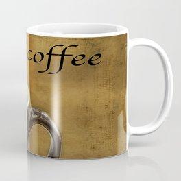 cappuccino coffee textured art Coffee Mug