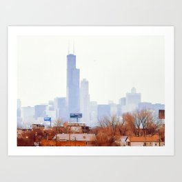 Tale of Two Cities Art Print