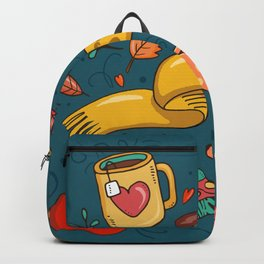 Autumn Is The Time To Stay Cozy Backpack