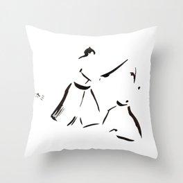 Aikido Series - 1 Throw Pillow