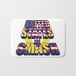 United States of Smash Bath Mat