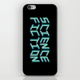SCIENCE FICTION iPhone Skin