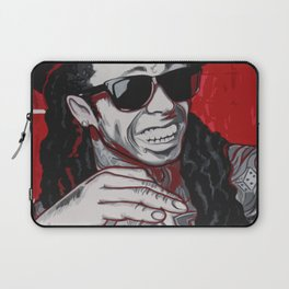 Red Weezy Laptop Sleeve