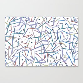 Stick Picnic Canvas Print