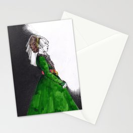Northern Renaissance Woman Stationery Cards
