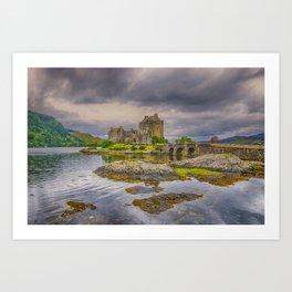 Eilean Donan Castle 4 Art Print