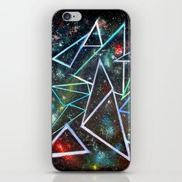 My Father's Star Charts iPhone Skin