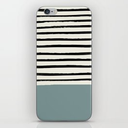 River Stone & Stripes iPhone Skin