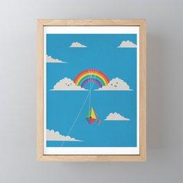 Tangled Up Framed Mini Art Print