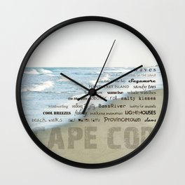 cape cod Wall Clock