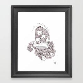 ship of fools Framed Art Print
