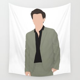Harry Styles  - green suit Wall Tapestry
