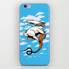 Hare Dryer Flyer iPhone & iPod Skin