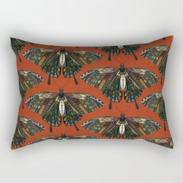 swallowtail butterfly terracotta Rectangular Pillow
