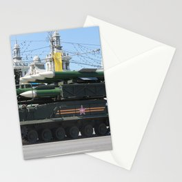 moscow power Stationery Cards