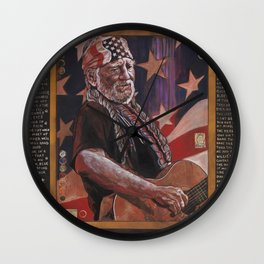 Willie Wall Clock