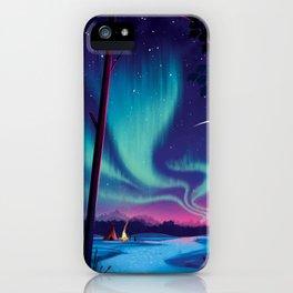 Aurora iPhone Case