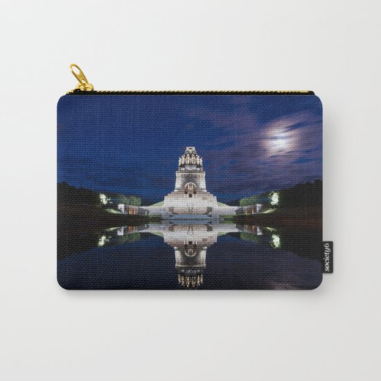 Monument of Battles of Nations- Germany - blue hour Carry-All Pouch
