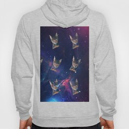 Space Angry Cat, Funny Cute Galaxy Cat Gift, Cat Lover, Dank Meme Space Kitty, Animal Lover, Kitten Hoody