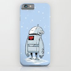 Robot Love Snow iPhone 6s Slim Case