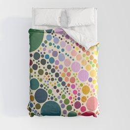 Light Pastel Pebble Pattern Comforters