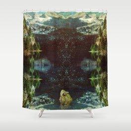 Black River Shower Curtain