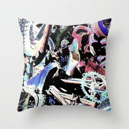 Peddle Throw Pillow