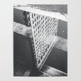 Flat Iron Building - NYC Reflection Poster