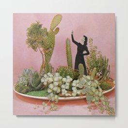The Wonders of Cactus Island Metal Print