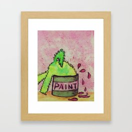 Oooops! Framed Art Print