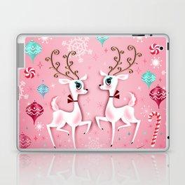 Cute Christmas Reindeer Laptop & iPad Skin