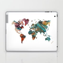 Map of the World triangle Laptop & iPad Skin