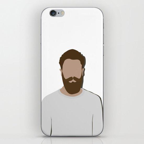 FULL BEARD iPhone & iPod Skin