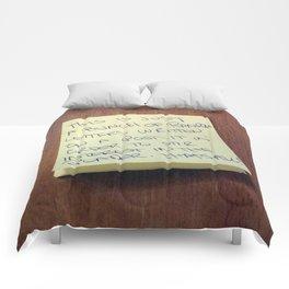 Notable Comforters