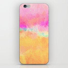 Modern Pastel Rainbow Cascade Abstract iPhone Skin