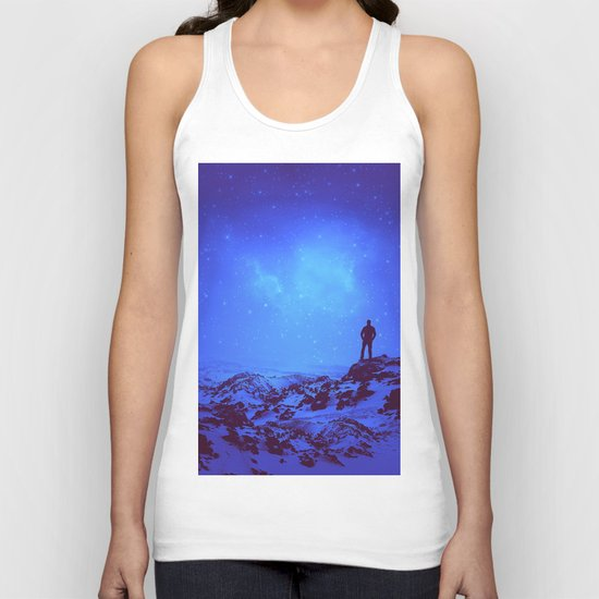 Lost the Moon While Counting Stars III Unisex Tank Top