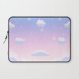Cosmic Sky Candy Floss Laptop Sleeve