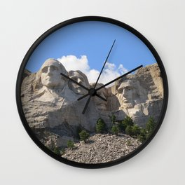 Big Heads Wall Clock
