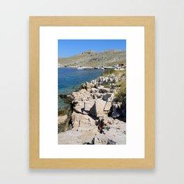 opat Framed Art Print