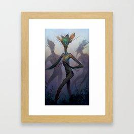 Twisted Wisp Eaters Framed Art Print
