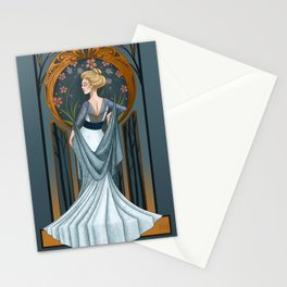 Be Thou Stone No More - Shakespeare Art Nouveau Stationery Cards