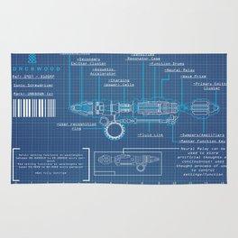 Riversong Screwdriver Blueprint Rug