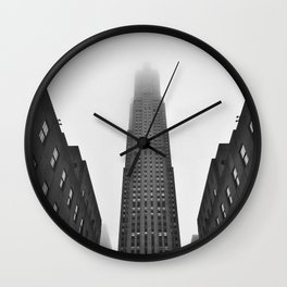 Rockefeller Center Wall Clock